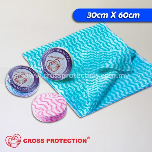 Compressed Towel - Assorted Color