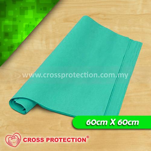 Green Crepe Paper 60x60cm