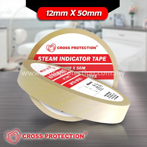 Steam Indicator Tape 12mmx50m