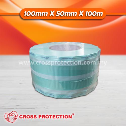 Sterilization Gussetted Reel 100mmx50mmx100m