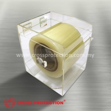 Barrier Film Dispenser - Clear