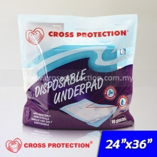 SAP Absorbent Underpad 24x36inch
