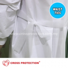 HIGH RISK POLY COATED ISOLATION GOWN