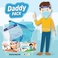Child 3ply Face Mask - Daddy (5bxs+8bxs+1pcs/bag)
